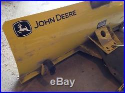 NEW John Deere 44 Front Blade Fits LT/LTR Lawn Tractors
