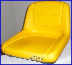 NEW! John Deere Mower Seat+Decal & Hardware L100 L110 L118 L120 L130 L135 L145