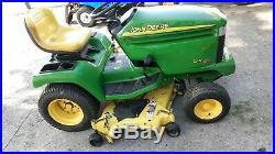 NICE RARE 2003 John Deere GX355 Yanmar Diesel 54 Deck Power Steering 355 355d