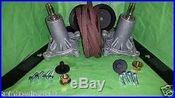 New 46 2 Blade Deck Rebuild kit Craftsman Husqvarna 405143 195945 192870 405380