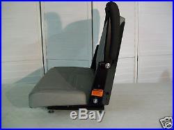 New Gray Seat, Bunton, Bobcat, Dixie, Snapper, Toro, Exmark Zero Turn Mower #ln