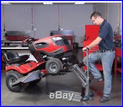 New High Lift Riding Lawn Mower / ATV Lift Jack US Seller Garden Tractor Garage