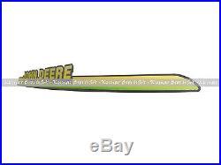 New John Deere Upper Hood With LH & RH Decal Set 325 335 345 355D