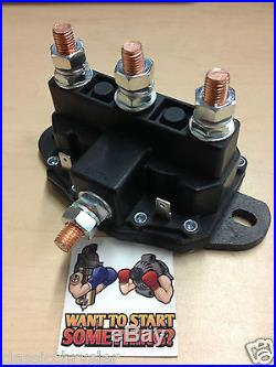 New Motor Reversing Solenoid Switch Warn Ramsey Winch Motor Hydraulic Pump 24450