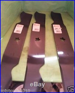 New SET Of 3 Craftsman Husqvarna 54 Mower Blades 187256 187254