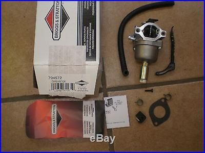 OEM 18hp Briggs & Stratton intek Carburetor 794572, 793224 Carb