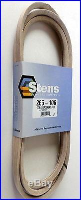 OEM Spec 265 106 Belt for AYP Husqvarna Craftsman YTH20K46 YTH2146XP 46 Deck