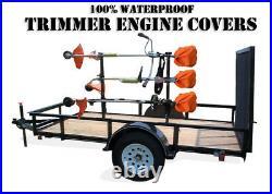 ORANGE Trimmer Engine Covers, Edger, Pole Saw, ORIGINAL DryWraps 100% Waterproof