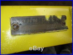 Original 1963 John Deere 110 Garden Tractor 38 Mower Deck Restored Excellent