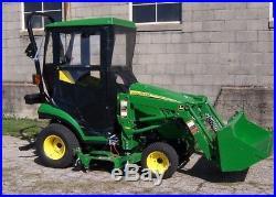 Original Tractor Cab Hard Top Cab Enclosure Fits John Deere 1023E 1025R 1026R