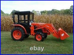 Original Tractor Cab Hard Top Cab Enclosure Kubota L2501 L3301 and L3901
