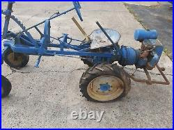 Page Vintage Garden Tractor from the 40's-50's