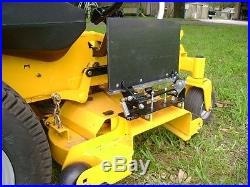 QWIKCHUTE Chute Blocker for SCAG Tiger Cat II Cub 48 Velocity Deck NQD-STC48