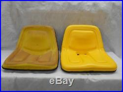 REPLACEMENT SEAT for JOHN DEERE 120,140,300,312,314,317,400 MOWERS STEEL PAN #BZ