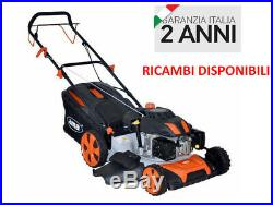Rasaerba A Scoppio Ama Lt60 Motore Benzina 200cc 6hp Tagliaerba Tosaerba 20772