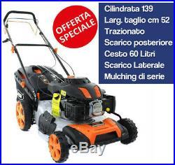 Rasaerba A Scoppio Semovente Ama Rt521 Tagliaerba Tosaerba Tosaprato 52cm 16766