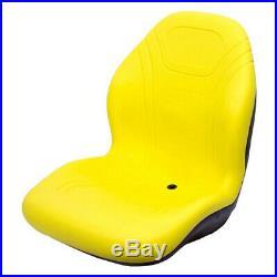 Replacement Milsco Yellow Seat John Deere Fits John Deere X Series Models