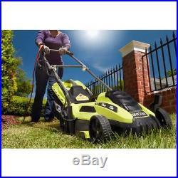 Ryobi Corded Electric Mower Walk Behind Push Garden Backyard Cutting Grass Lawn