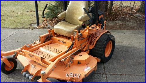 SCAG 61 commercial zero turn mower-TURF TIGER-ONLY 235 hours