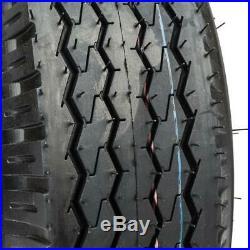 SET of (2) 4.80/4.00-8 4PR Bias Trailer Tires 4.80-8 4.80x8