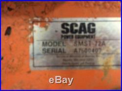 Scag 72 inch Advantage Turf Tiger Zero Turn Mower