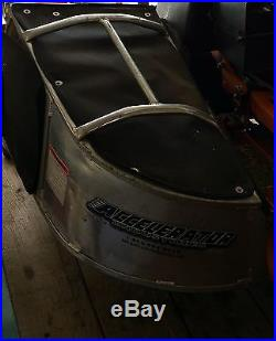 Scag V-Ride 36 600fx Stander 108 hours Accelerator Aluminum Grass Catcher