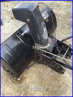 Sears Craftsman Lawn Tractor 2 Stage 42 Wide Snowblower