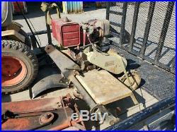 Sears Garden Tractor Tiller 3 Point Attachment (CAT. 0) Briggs 8hp Engine