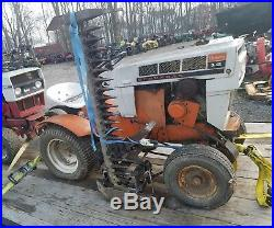 Sears Suburban 12 Garden Tractor With Sickle Bar