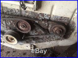 Sears Suburban S12 garden tractor mower deck craftsman