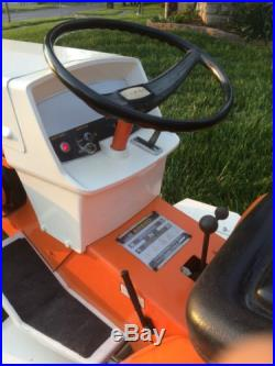 Sears Suburban SS 12 Lawn And Garden Tractor Gt Mower 3 Point Hitch Mower Deck