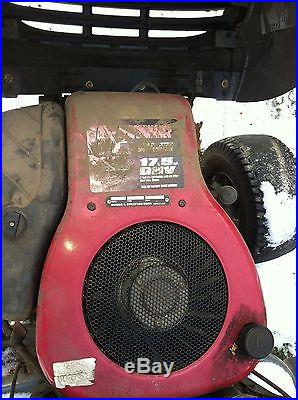 Sears riding tractor 42 17.5 hp