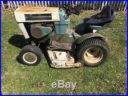 Sears suburban 12hp garden tractor