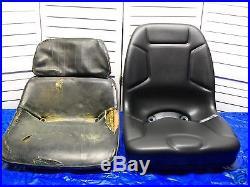 Seat For Kioti Tractor Lb1914, Lk2554, Lk3054, Lk3554 Compact Utility Tractors #fw