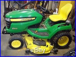Seat Jd John Deere X 300, X300r, X320, X340, X360, X500, X520, X530 Garden Tractors #de
