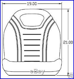Seat John Deere 4200,4300,4400,4500,4600,4700,4210,4310,4410,4510,4610,4710 #di