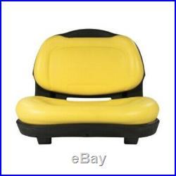 Seat John Deere AM136044 AUC11188 X300 X300R X304 X310 X320 X324 X340 X360 X500