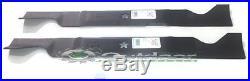 Set of 2 Blades for Sears Craftsman Husqvarna 46 Deck 405380 532405380 R12242