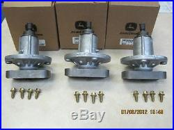 Set of 3 Original John Deere Spindles #GY20785 Fits L120 L130 Models