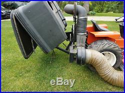 Simplicity 9020 Powermax 24 hp Onan, John Deere Collector System