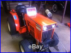 Simplicity 9518 18HP Diesel Garden Tractor (Belly Mower & Snow Plow) Org. Own
