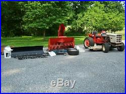 Simplicity Power Max 9020 with attachments. Allis Chalmers 616/620/720