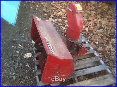Snapper LT 16 Lawn Tractor, Mower Deck, Snow Blower
