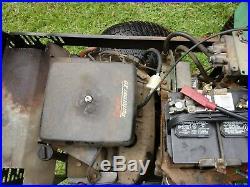 Steiner Tractor 420 4x4 Onan gas