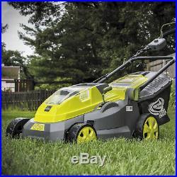 Sun Joe Cordless Lawn Mower 16 inch 40V Battery Not Included