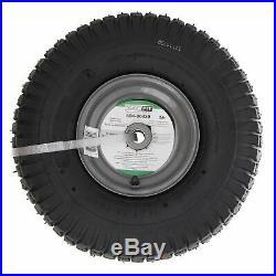 SureFit Front Wheel Tire Assy Husqvarna 532122073 532106732 LT 125 15x6-6 2PK