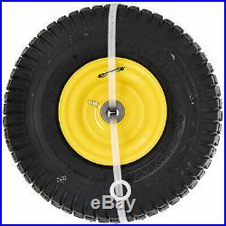 SureFit Yellow Wheel Assy John Deere M123810 GY20638 D100 E100 L100 15x6-6 2PK