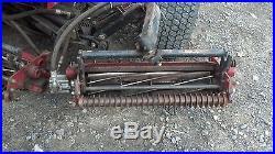 TORO 5100 D REEL MASTER COMMERCIAL 4X4 LAWN MOWER 3 CYLINDER ISUZU DIESEL