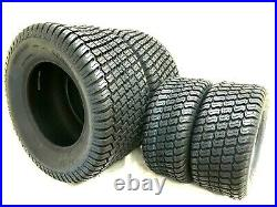 TWO 23x10.50-12 Lawn Tractor Tires TWO 16X6.50-8 TIRES FOUR TIRES TOTAL