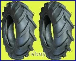 TWO 6-12 Ag Lug Garden Tractor Tires LRB Carlisle Tru Power brand new & fresh
